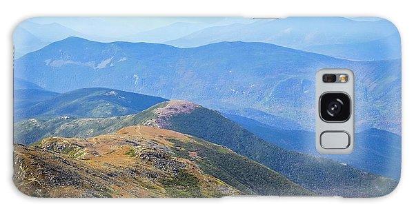 Majestic White Mountains Galaxy Case