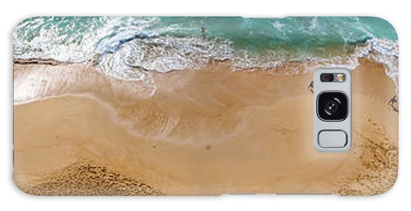 Makaha Beach Panorama Galaxy Case