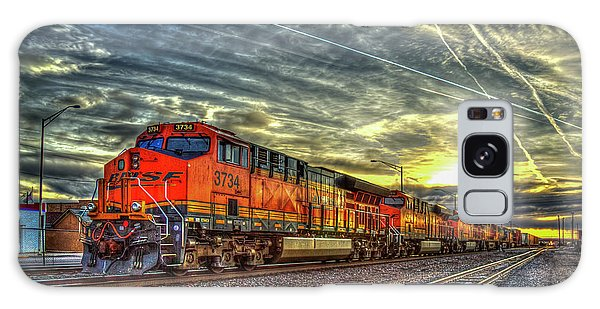 Make Way Resting B N S F Train Gallup New Mexico Art Galaxy Case