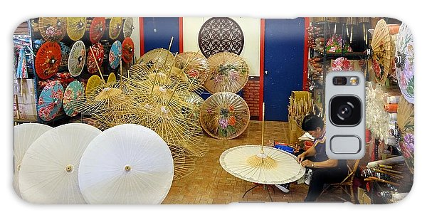 Making Chinese Paper Umbrellas Galaxy Case