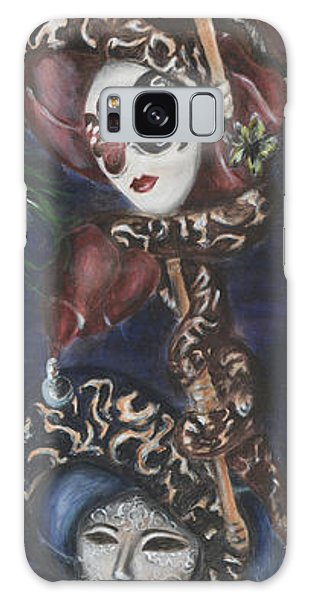 Making Faces Venetian Galaxy Case by Nik Helbig