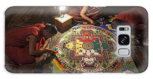Making Of Mandala Galaxy Case