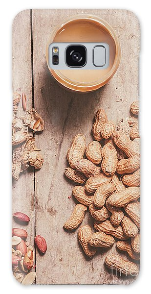 Indoors Galaxy Case - Making Peanut Butter by Jorgo Photography - Wall Art Gallery