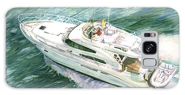 Motor Yacht Galaxy Case - Making Way by P Anthony Visco