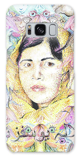 Malala-don't Ignore Us-sombra De Arreguin Galaxy Case