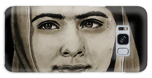 Malala Yousafzai- Teen Hero Galaxy Case by Michael Cross