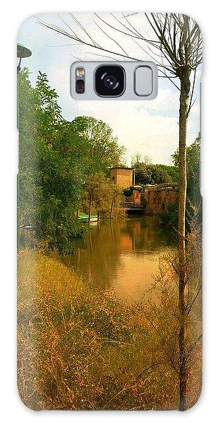 Malamocco Canal No2 Galaxy Case by Anne Kotan