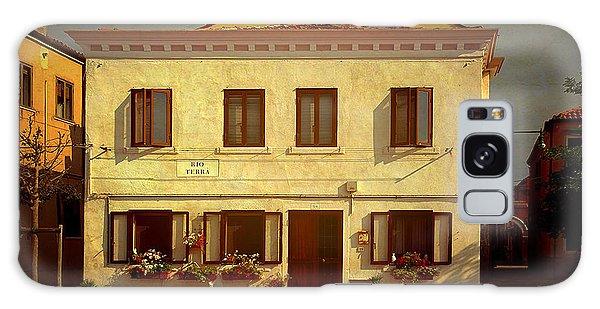 Malamocco House No1 Galaxy Case by Anne Kotan