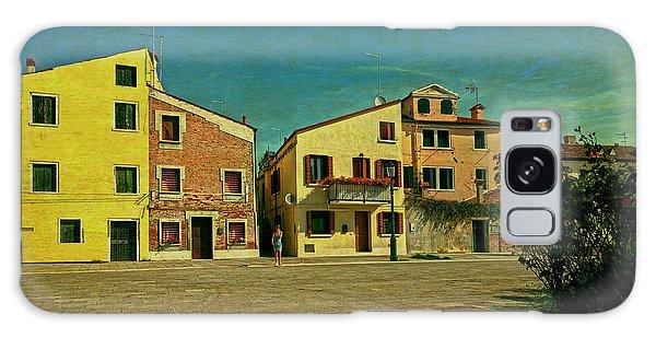 Malamocco Main Street No1 Galaxy Case by Anne Kotan