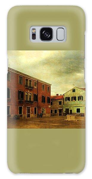 Malamocco Piazza No1 Galaxy Case by Anne Kotan