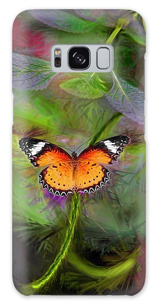 Malay Lacewing  What A Great Place Galaxy Case