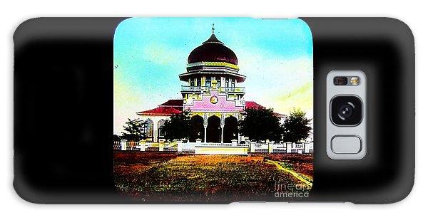 Malay Mosque Singapore Circa 1910 Galaxy Case by Peter Gumaer Ogden