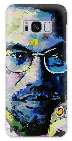 Human Rights Galaxy Case - Malcolm X by Richard Day
