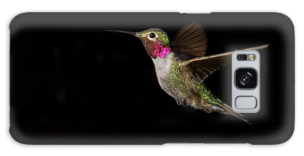 Male Broad-tailed Hummingbird Galaxy Case
