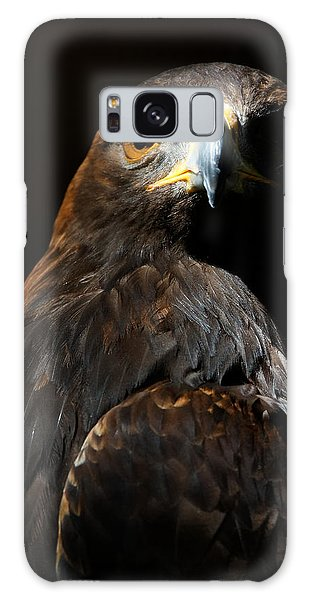 Maleficent Golden Eagle Galaxy Case