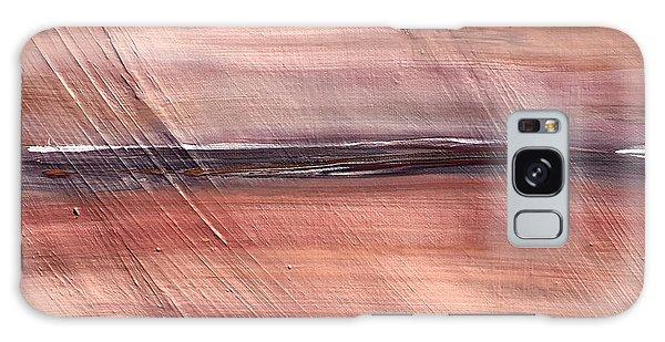 Malibu #32 Seascape Landscape Original Fine Art Acrylic On Canvas Galaxy Case