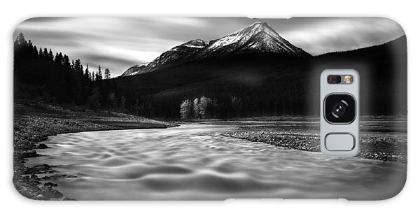 Maligne River Autumn Galaxy Case