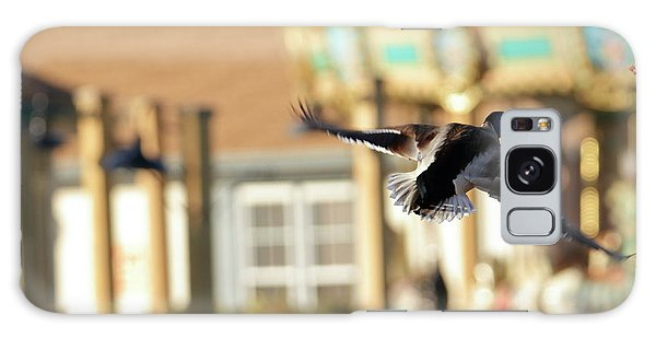 Mallard Duck And Carousel Galaxy Case by Geraldine Scull