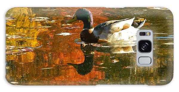 Mallard Duck In The Fall Galaxy Case