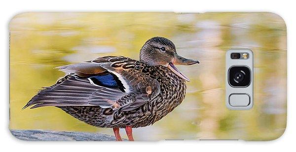 Mallard Duck Galaxy Case