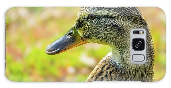 Mallard Portrait - Female Galaxy Case