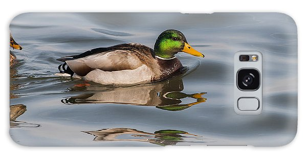 Mallards And Reflection Galaxy Case