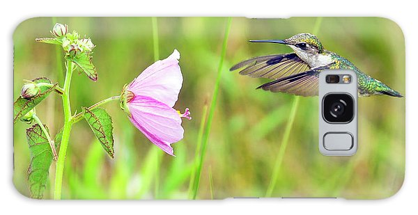 Mallow Hummer Galaxy Case by Gary Holmes