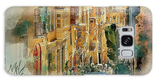 Maltese Street Galaxy Case