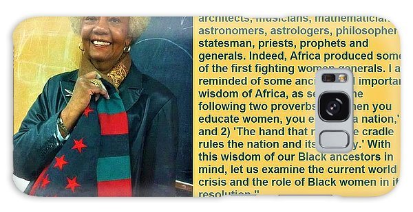 Mama Frances Cress Welsing Galaxy Case