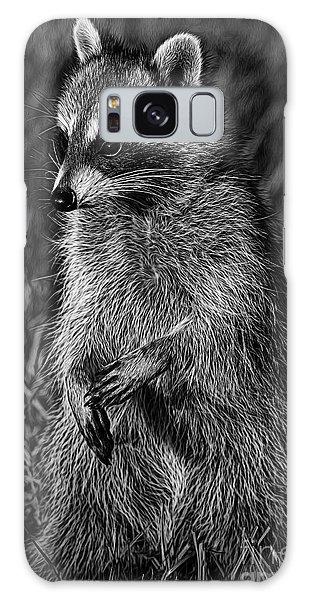 Mama Raccoon Galaxy Case