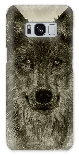 Mama Wolf Vintage Galaxy Case by Michelle Wolff
