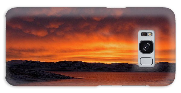 Mamantus Clouds Over Wildhorse Reservoir, Nv Galaxy Case