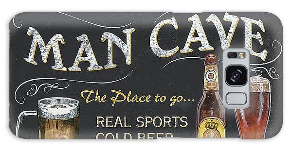 Galaxy Case - Man Cave Chalkboard Sign by Debbie DeWitt