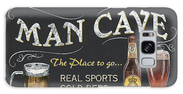 Man Cave Chalkboard Sign Galaxy Case