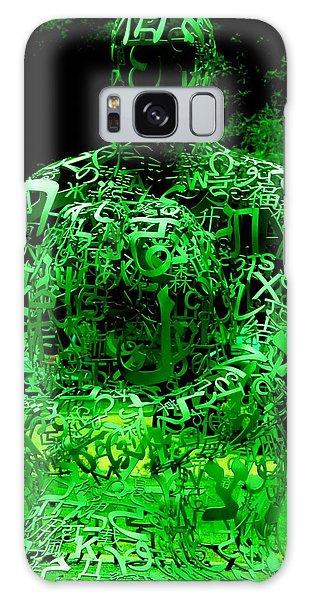 Man In Green Galaxy Case