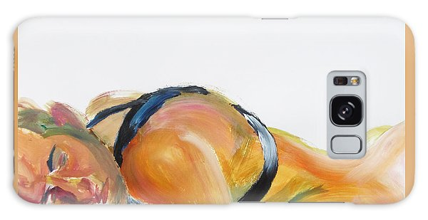 Man In Harness Sleeping Galaxy Case