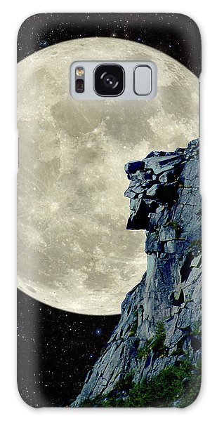 Man In The Moon Meets Old Man Of The Mountain Vertical Galaxy Case