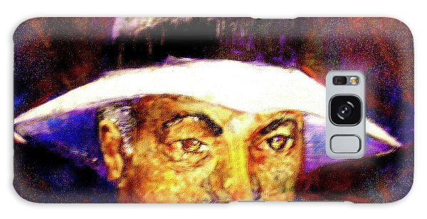 Man In The Panama Hat Galaxy Case by Seth Weaver
