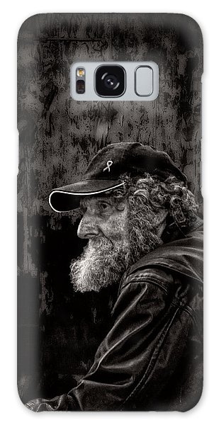 Man With A Beard Galaxy Case by Bob Orsillo