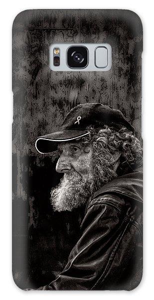Man With A Beard Galaxy Case