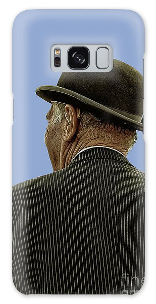 Man With A Bowler Hat Galaxy Case
