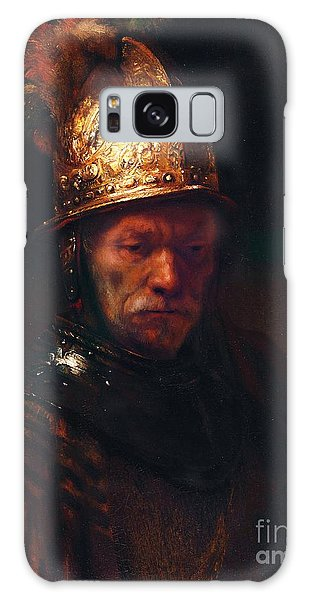 Man With The Golden Helmet Galaxy Case by Pg Reproductions