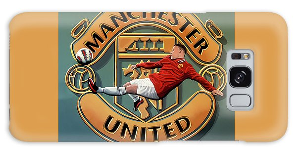 Manchester United Painting Galaxy Case