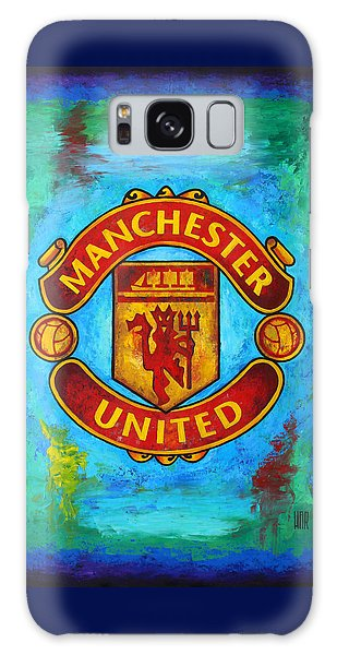Manchester United Vintage Galaxy Case