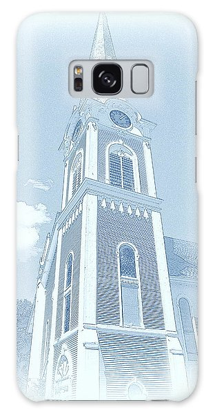 Manchester Vt Church Galaxy Case