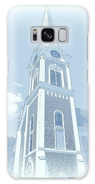 Manchester Vt Church Galaxy Case