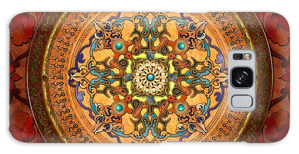 Islam Galaxy Case - Mandala Arabia by Peter Awax