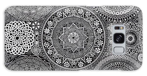 Mandala Bouquet Galaxy Case