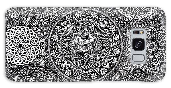 Mushroom Galaxy Case - Mandala Bouquet by Matthew Ridgway
