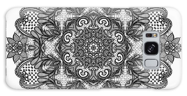 Mandala To Color 2 Galaxy Case by Mo T